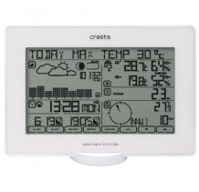 BAR918WH Bluetooth Touchscreen Weerstation