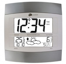 WS-6158 Thermo clock